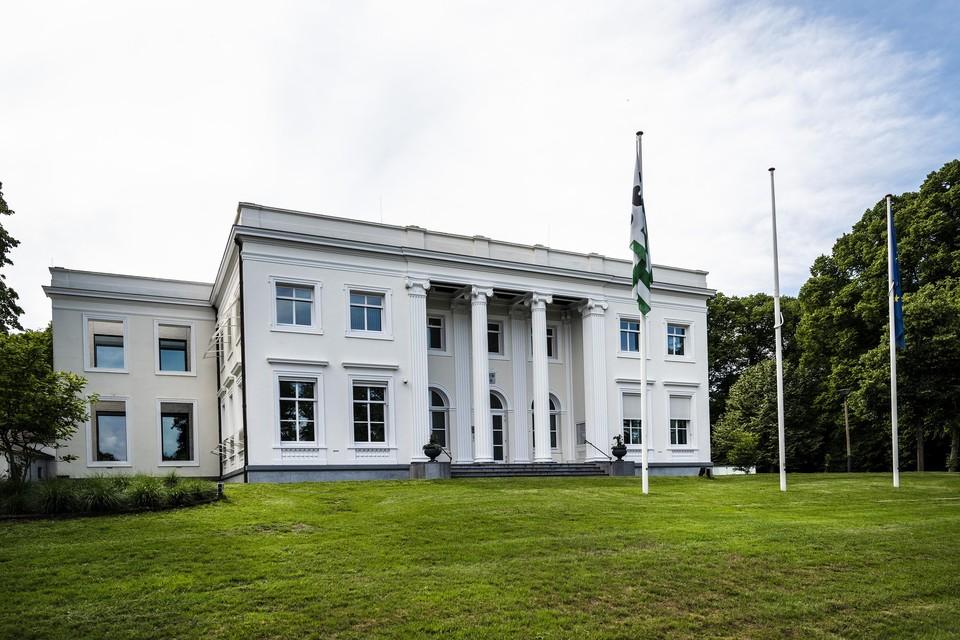 Het gemeentehuis van Bloemendaal.