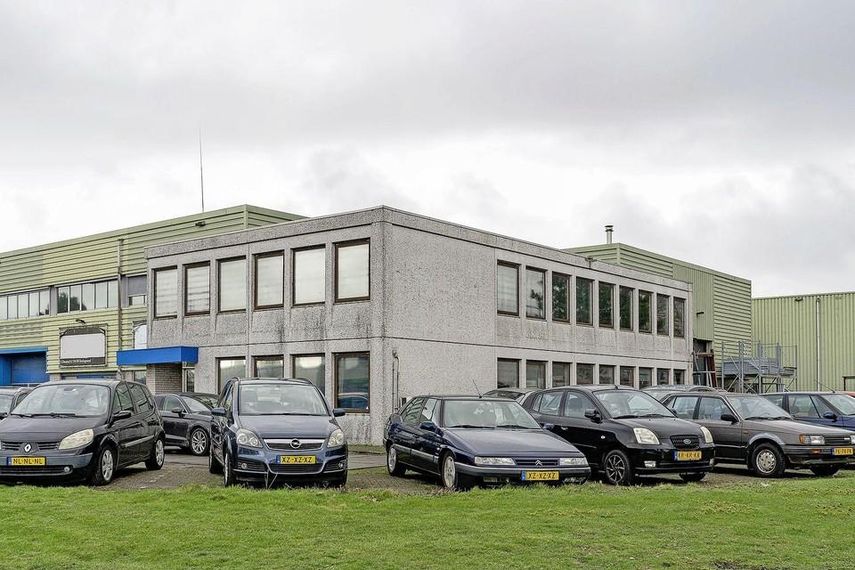 Het bedrijfsverzamelgebouw aan de Celsiusstraat in Heerhugowaard.