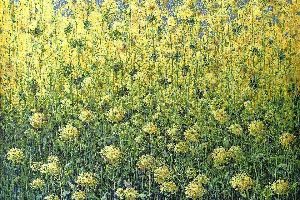 Uitbundige bermbloemen van Ala Khonikova
