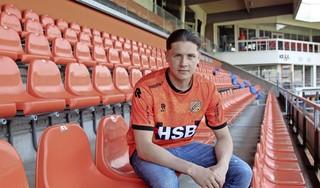 'Het is best een grappig verhaal als je erover nadenkt', zegt Jordi Blom over zijn overstap van eredivisie zaalvoetbal naar Jong FC Volendam