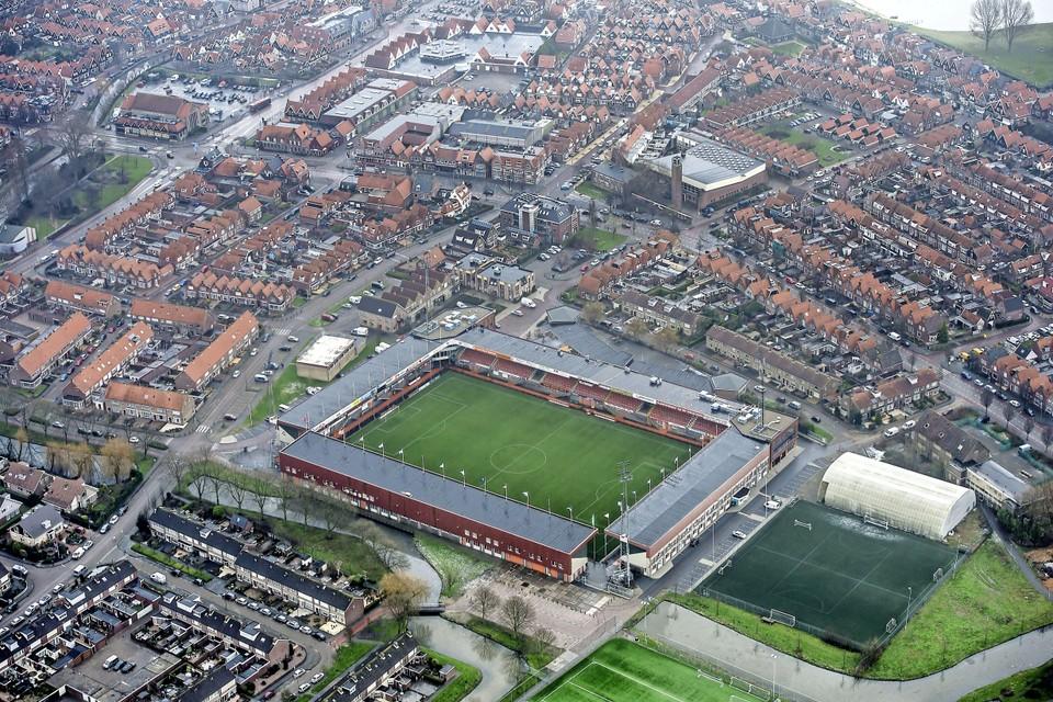 Het Kras Stadion van FC Volendam.