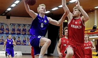Basketballers Den Helder Suns verder uitgedund en flink geklopt, maar nooit geknakt