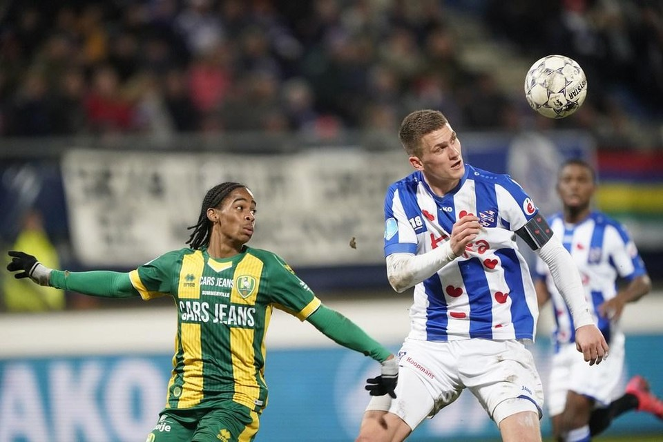 Botman kopt weg namens Heerenveen.