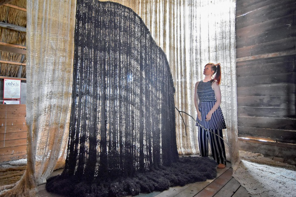 Kunstenares Ericka Voortman: ,,De staat van tederheid is heel erg naar de achtergrond gedrukt.''