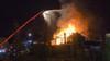 Grote uitslaande brand in leegstaand restaurant in Heerhugowaard