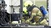 Vrachtwagen vliegt in brand tijdens rit op N307 in Zwaag, chauffeur weet door actief handelen erger te voorkomen