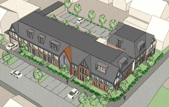 Negentien appartementen komen er op een al vijf jaar verloederend, voormalig schoolterrein in Schermerhorn