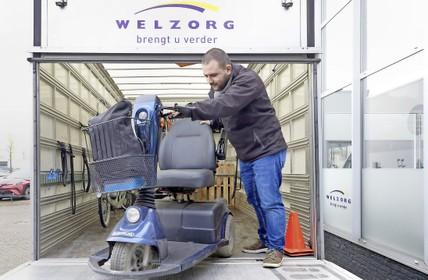 Minder klachten over rolstoelen, scootmobielen en aangepaste fietsen nu Welzorg hulpmiddelen levert aan Wmo-klanten in de Noordkop