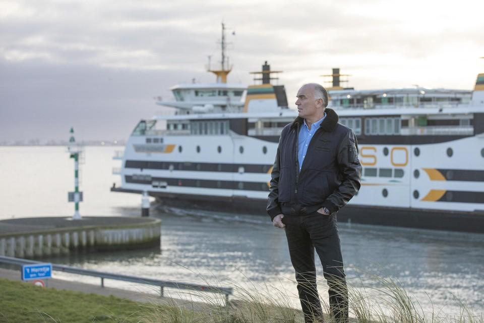 Martijn de Veij: 'Het is maar twintig minuten met de boot naar Den Helder hoor.'