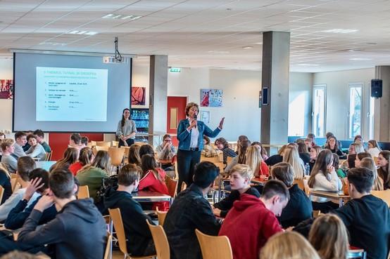 Regius-scholieren denken mee over aanzien van Schagen in 2030