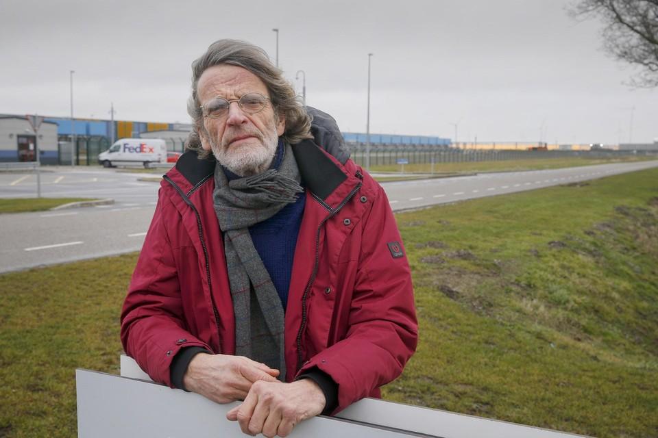 """Voorzitter Marco Lont van actiegroep Red de Wieringermeer. ,,Alle inwoners moeten beseffen wat hen boven het hoofd hangt."""""""
