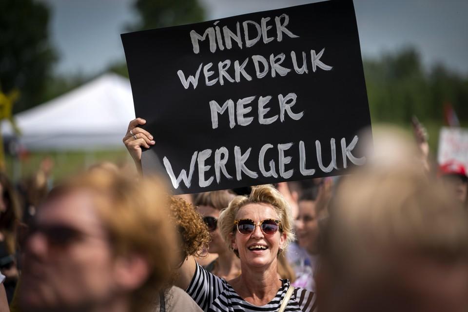 Vanuit West-Friesland staakte alleen personeel werkzaam bij Smallsteps.
