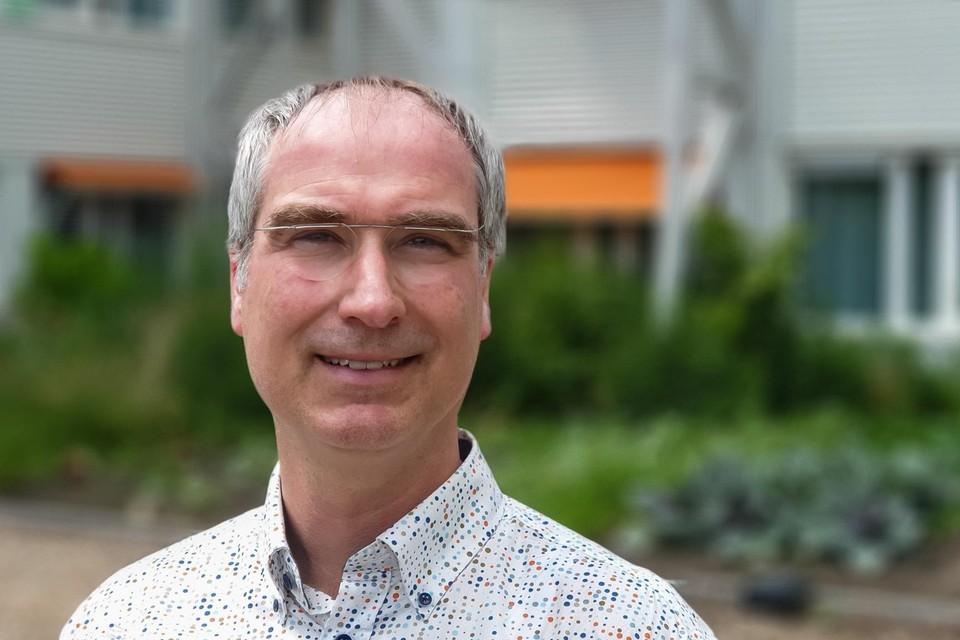Directeur Egbert de Vries van het Platform Woningcorporaties Noordvleugel Randstad.