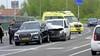 Automobilist gewond bij botsing met busje in Monnickendam