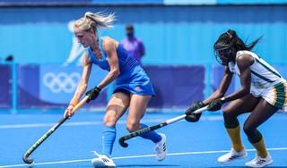Hockeysters winnen ook overtuigend van Zuid-Afrika