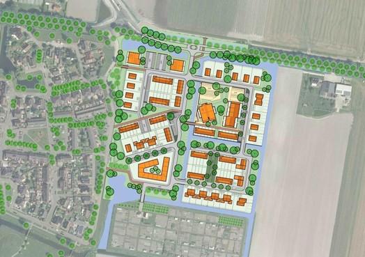 Tegenvaller voor 'zoekend Warmenhuizen': deel van plan voor nieuwbouw wordt uitgesteld