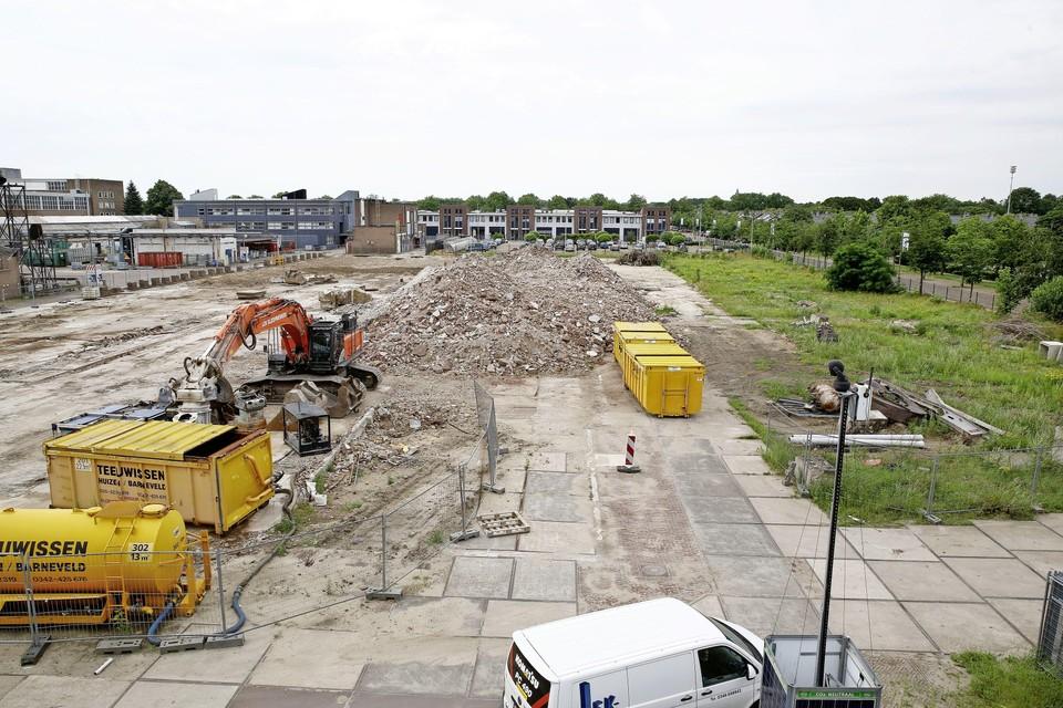 Het BNI-terrein aan de Havenstraat in Huizen.