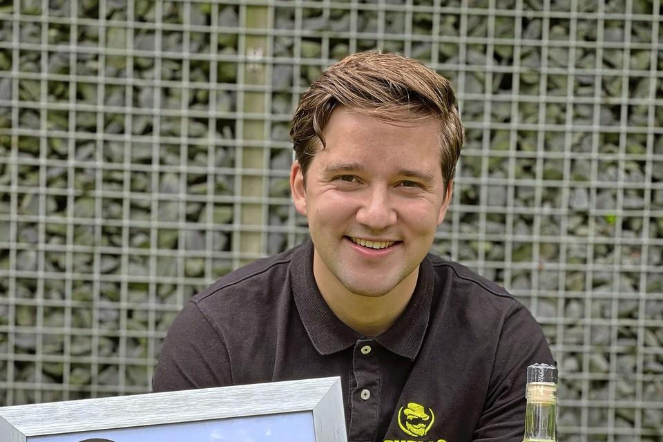 Mats heeft met zijn limoncello brons gewonnen bij de International Wine & Spirit Competition.