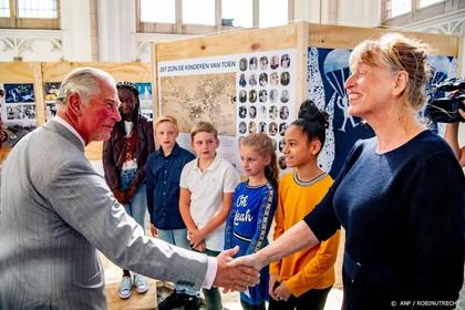 Prins Charles ontmoet Arnhemse kinderen