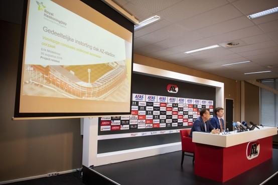 'Sloop dak AZ-stadion onnodig, maar begrijpelijk'