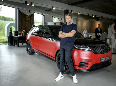 Nieuwe Range Rover 'styled by Piet Boon'