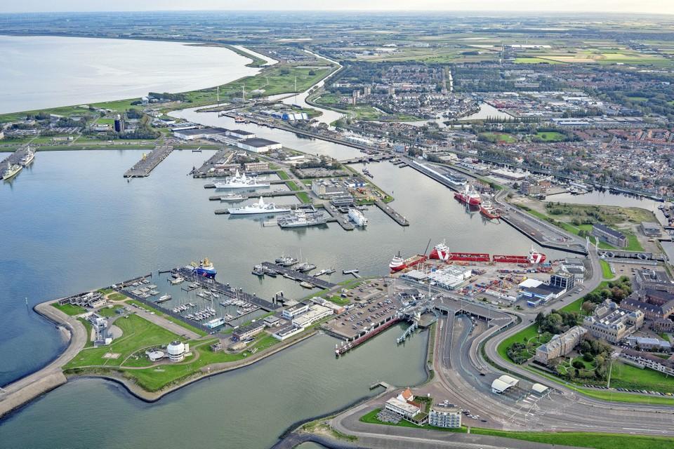 Het Helderse havenbedrijf boerde vorig jaar niet goed, mede door de coronacrisis.