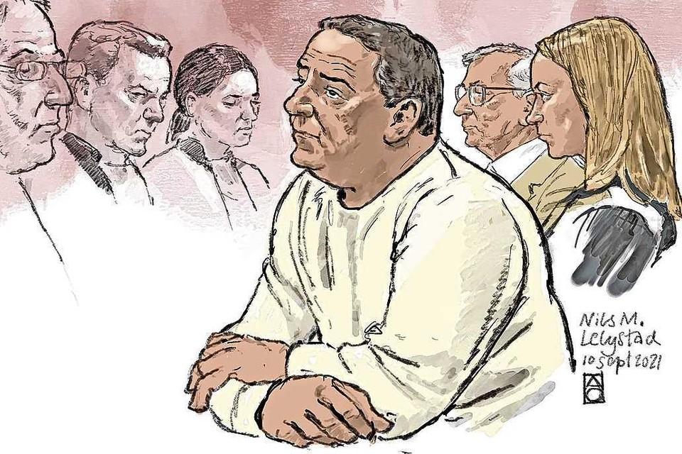 Nils M. in de rechtbank.