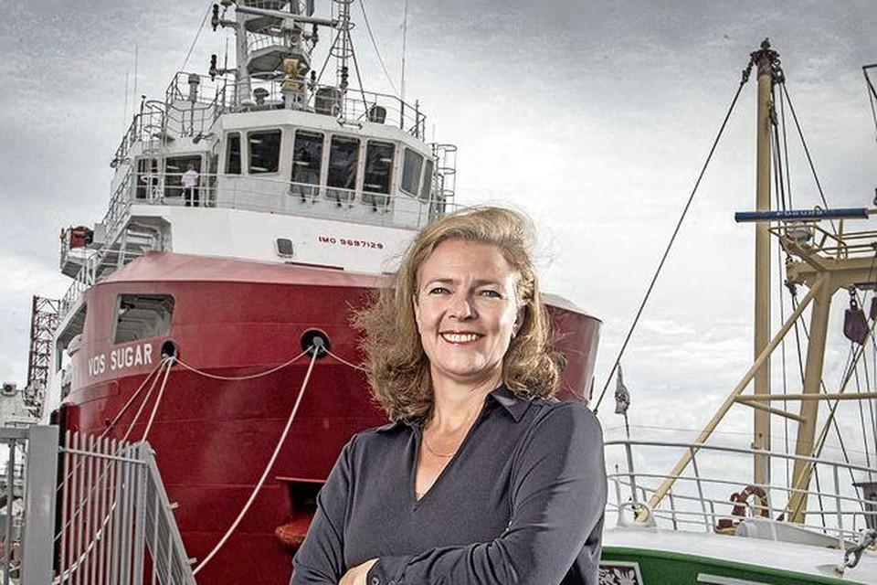 Directeur Jacoba Bolderheij van Port of Den Helder.