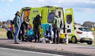 Vrouw gewond bij stevige aanrijding in Egmond aan Zee