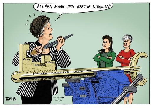 Annekee Eggermont (CDA Velsen): 'Is wethouder Steijn naïef over de financiële consequenties rond IJmond Werkt of is het politieke onwetendheid?'