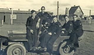 Nog slechts een deur herinnert aan het strafkamp op Texel. 'De gevangenen die er zaten waren NSB'ers en SS'ers vanuit heel Nederland. In totaal wel zeshonderd man, waaronder dertig ex-burgemeesters'