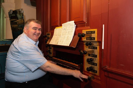 Amerikaanse organist Allen vooral met Bach in zijn element in Grote Kerk Edam