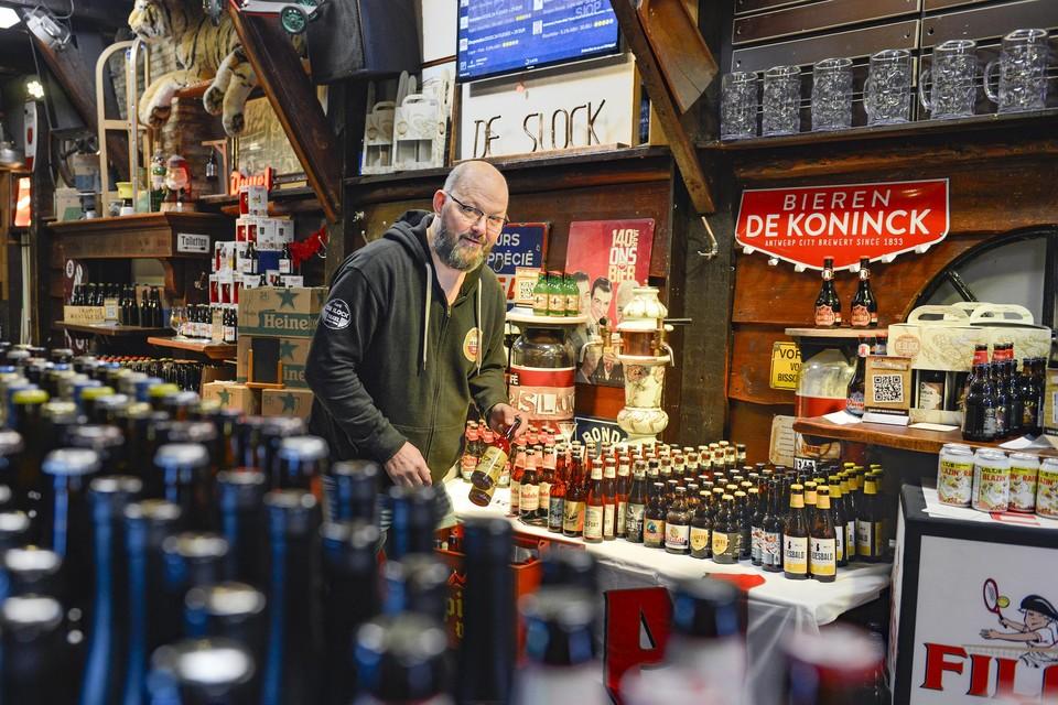 Heino Huizing: ,,Dit is gewoon mijn magazijnvoorraad.''