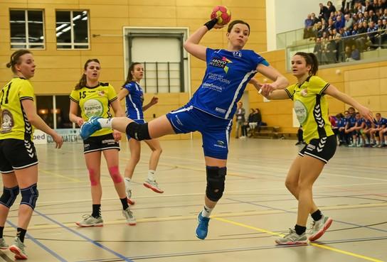 Ondanks winst op hekkensluiter DSVD overheerst het negatieve gevoel bij handbalsters Westfriesland SEW