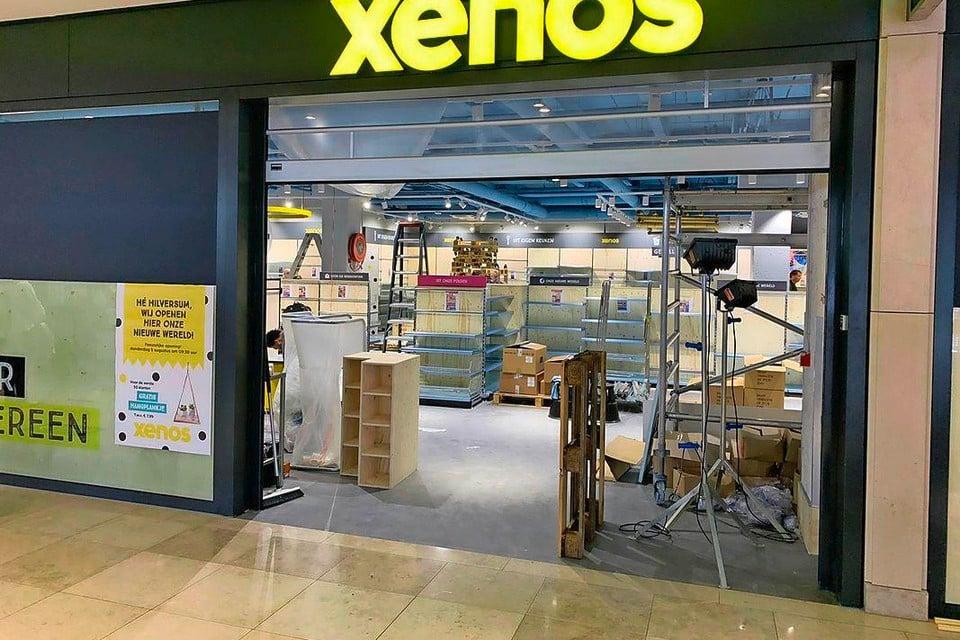 Er wordt hard gewerkt aan de nieuwe Xenos.