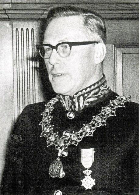 Burgemeester Wytema.