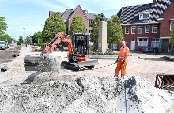Stenen komen niet meer terug bij oorlogsmonument in Den Helder