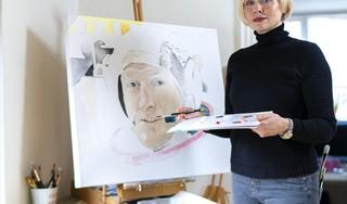 Schilderen is voor Katwijkse Sharon-Rose bijna een tweede beroep