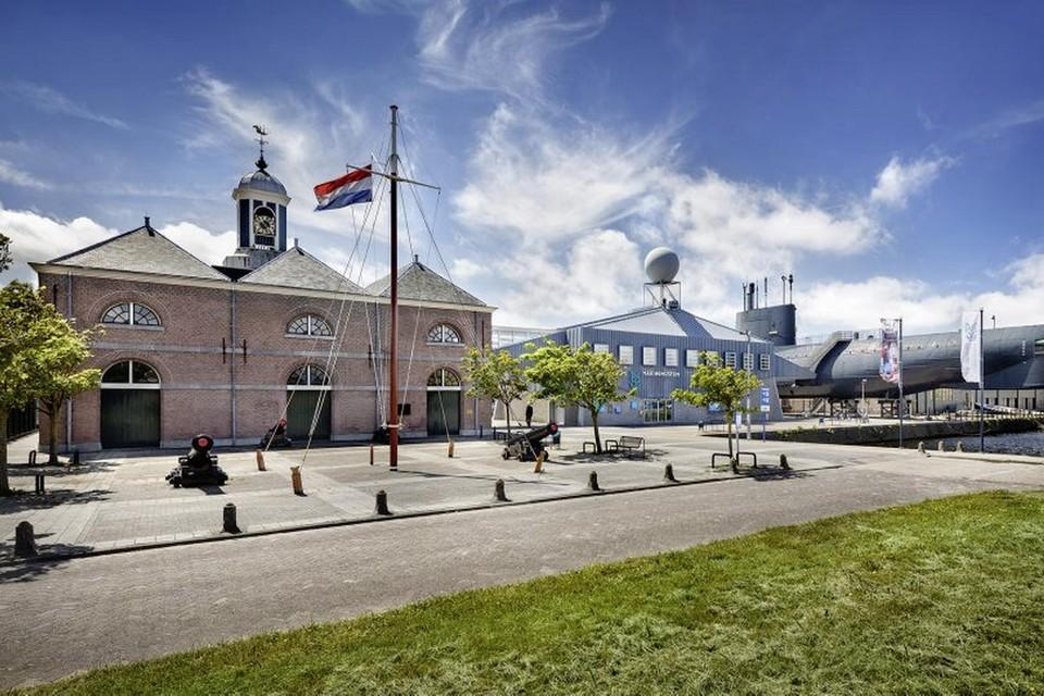 Het Marinemuseum.