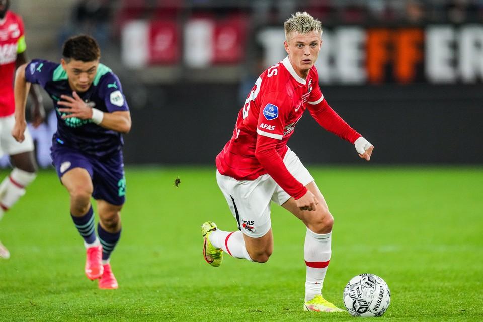 Gudmundsson kwam afgelopen weekend tegen PSV in het veld als invaller.