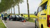 Automobilist zwaargewond bij eenzijdig ongeval in Abbenes, traumahelikopter ter plaatse