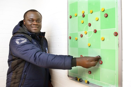 'Grote onbekende' Kwadjo Boateng maakt stappen met BFC en wil naam maken