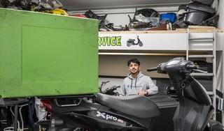 Jonge ondernemer Sofyan El Mesbahe ziet kansen in onzekere tijden: 'Ik heb ondernemen altijd al leuk gevonden'