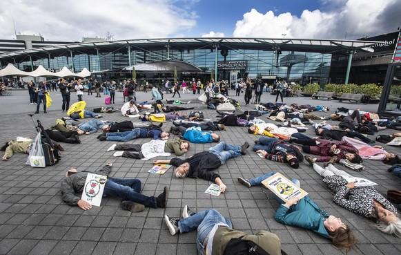 Arrestaties niet uitgesloten bij acties op Schiphol