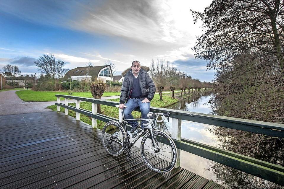 Robert Jan Oudijk vond het heerlijk om tijdens het fietsen zijn gedachten te ordenen.