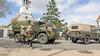 Bevrijdingsdag: een feestelijke kolonne van oude legervoertuigen rijdt over het eiland. 'Er zijn op Texel veel eigenaren van oude legervoertuigen'