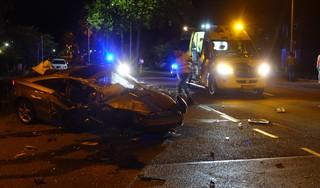 Ravage in Purmerend na achtervolging en crash, gewonde automobilist uit Berkhout aangehouden [video]