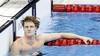 Alkmaarder Thom de Boer verruilt na de olympische finale op de 50 meter vrije slag zijn zwembroek al weer gauw voor zijn maatpak