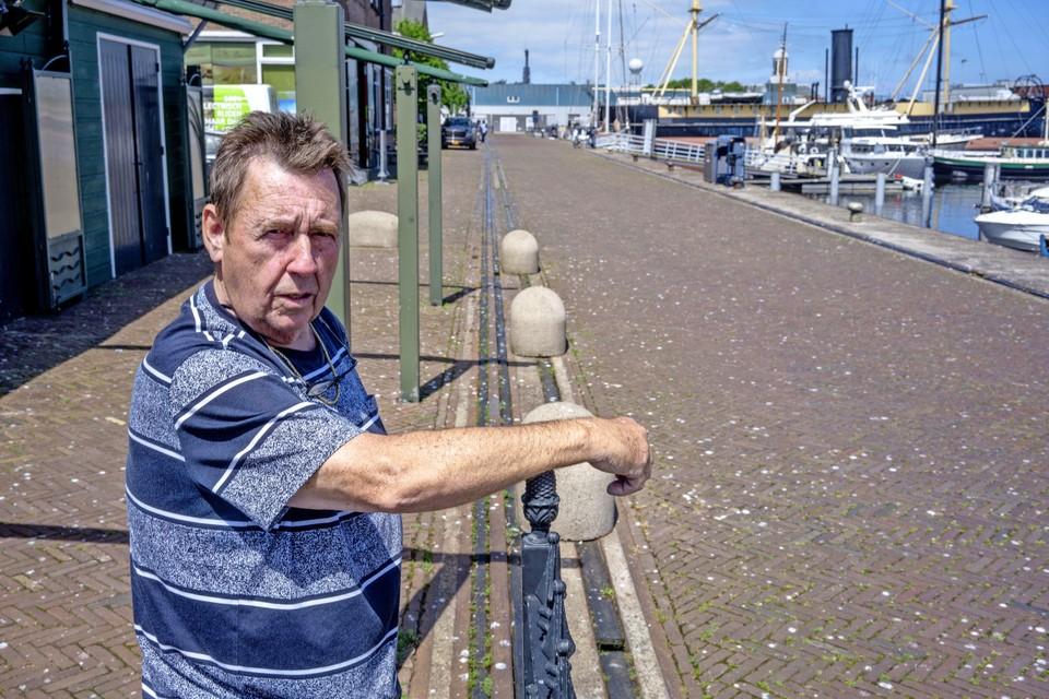 Uitbater Kim Kuipers van 't Zwaantje op Willemsoord.