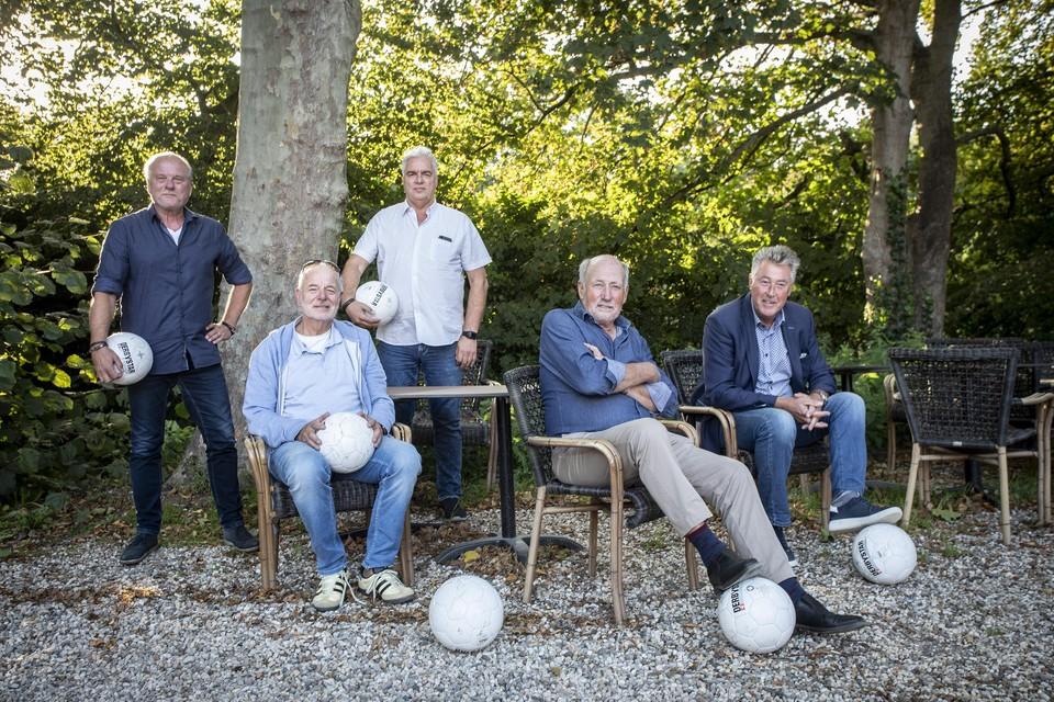 De rapporteurs tijdens de jaarlijkse bijeenkomst.